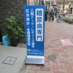 杉並区高円寺:医院のスタンド看板納品
