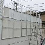 大田区南馬込:お寺のパネル看板設置