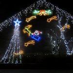 クリスマスイルミネーションの設置・撤去