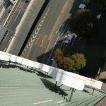 文京区関口:屋上看板の点検