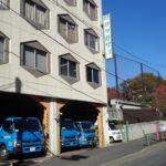 豊島区目白1-1-1:工事業者さんの袖看板撤去