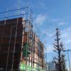 小金井市前原町:袖看板の白戻しと点検