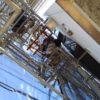 中野区江古田:電設会社さんの袖看板2台撤去