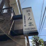 世田谷区赤堤:食器店さんの袖看板の撤去(参考価格66000円+税)