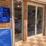 武蔵野市吉祥寺東町:鍼灸治療院の看板設置